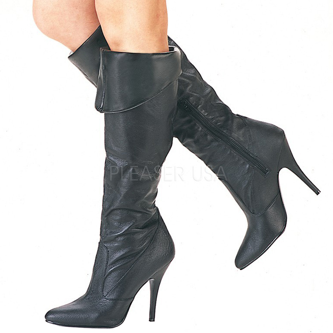 VANITY-2013 bottes femmes pleaser cuir taille 35 - 36